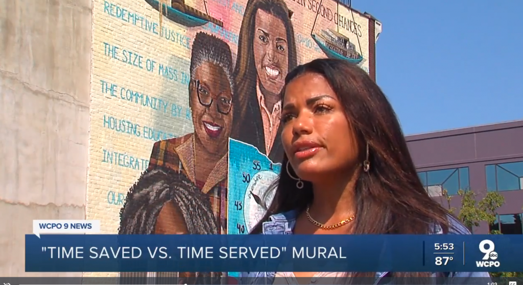 Time Saved vs. Time Served Mural