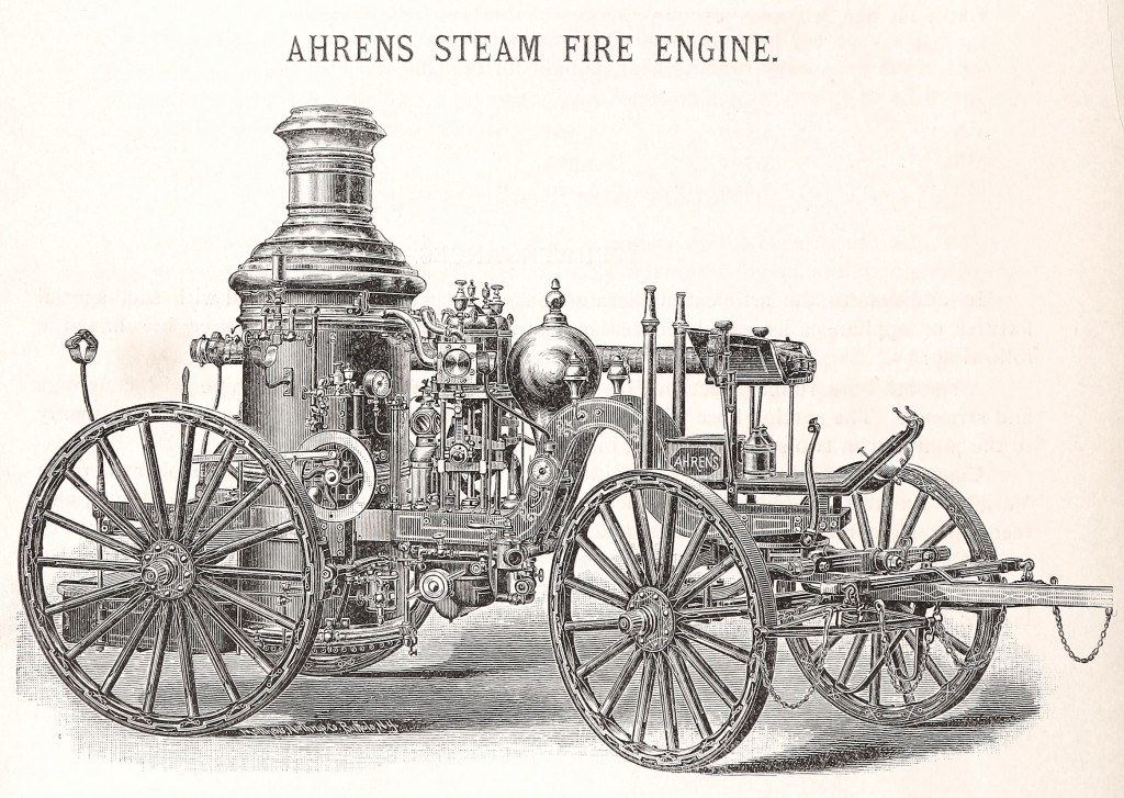 Ahrens Fire Engine 1892