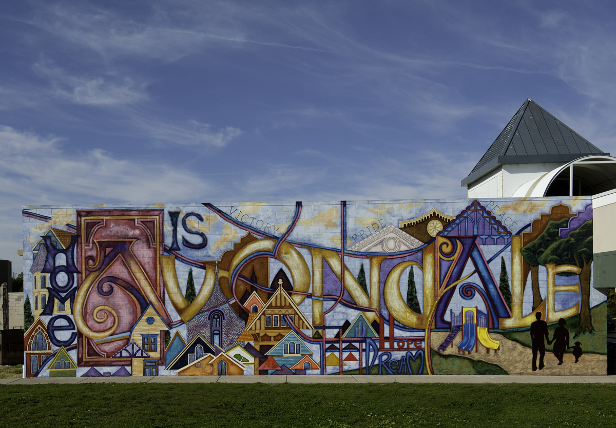 The Avondale Pride Mural