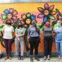 Chelsey Hughes' Flower Buddies, 1203 Sycamore St. Photo by Sandra Okot-Kotber.