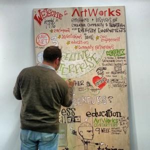 Mike Fleisch - Creative Enterprise sign