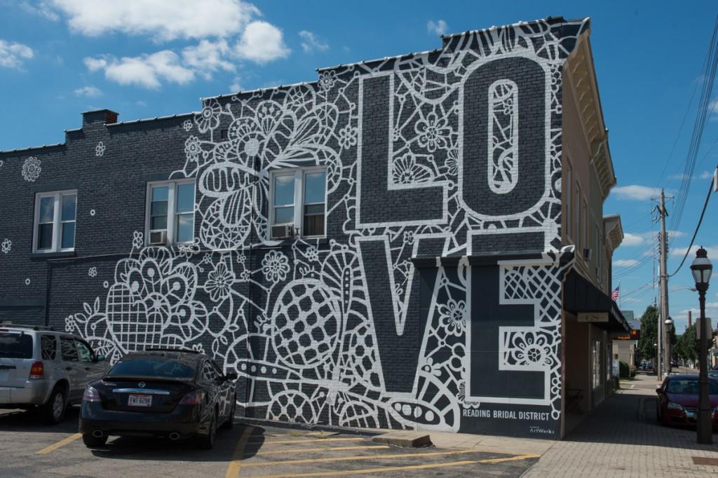 Love blooms artworks cincinnati for Cincinnatus mural