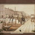 Canal at Vine Street Circa 1900