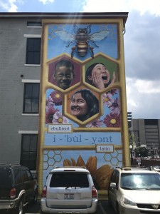 Scripps National Spelling Bee 90th Anniversary Mural by Paul Loehle