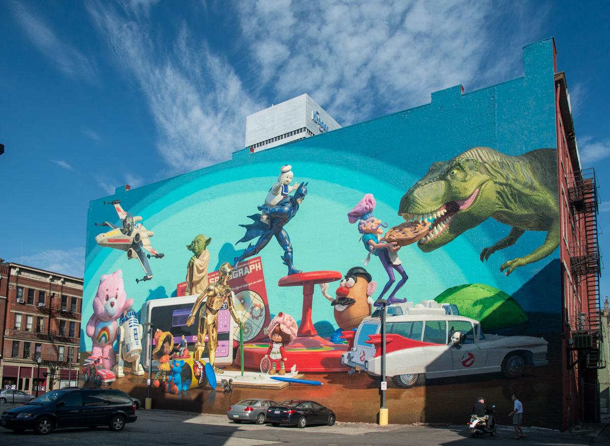 Cincinnati toy heritage artworks cincinnati for Cincinnatus mural