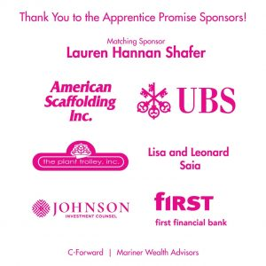 Apprentice Promise Sponsors