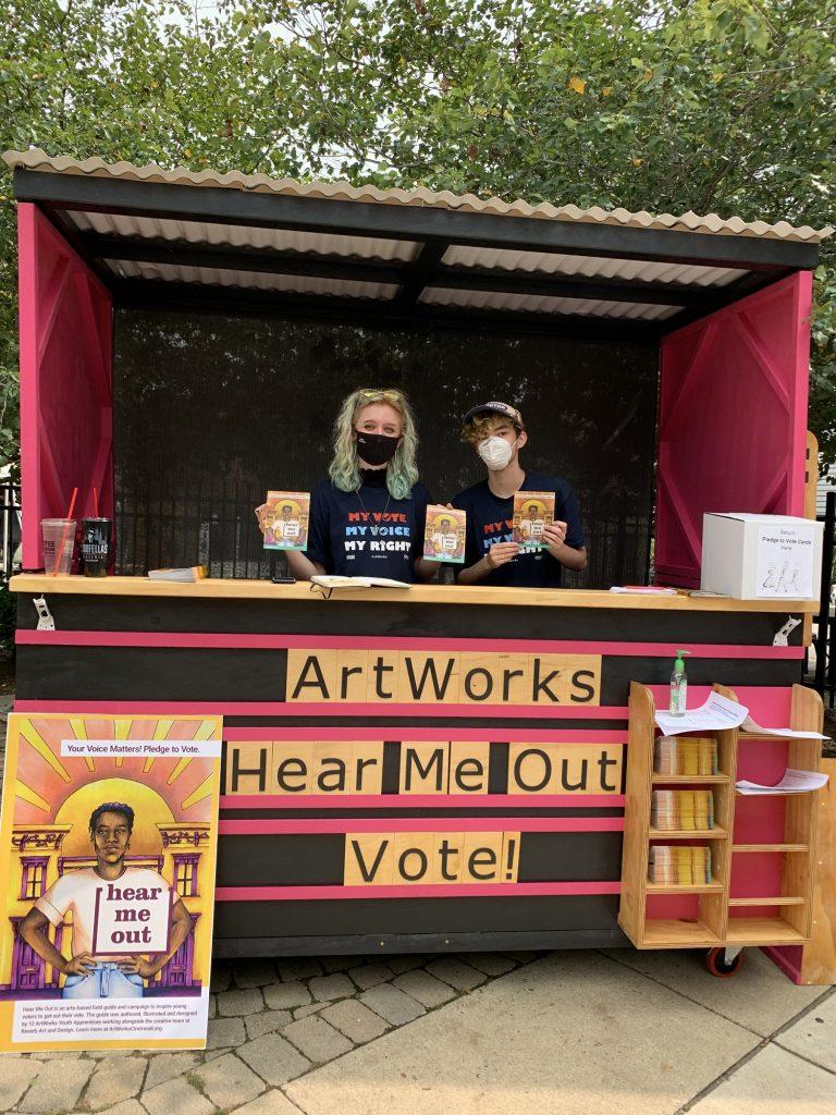 ArtWorks Hear Me Out: Vote!