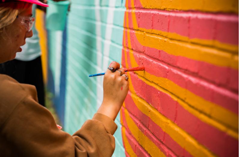 P&G Fund is ArtWorks 2019 Mural Season Sponsor